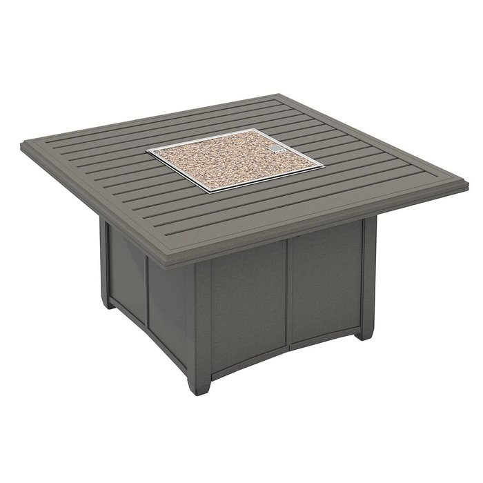 Banchetto Fire Pit Table With Regard To Copper Grove Obsidian Black Tempered Glass Apartment Coffee Tables (View 9 of 25)