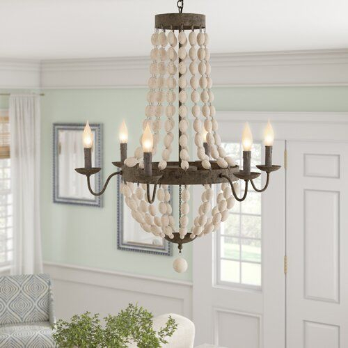 Bargas 6 Light Empire Chandelier With Ladonna 5 Light Novelty Chandeliers (View 20 of 20)