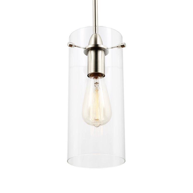 Barham 1 Light Cylinder Pendant Pertaining To Jayce 1 Light Cylinder Pendants (View 10 of 25)