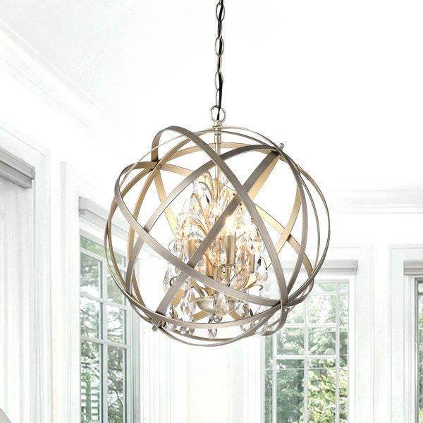 Barta 4 Light Crystal Chandelier – Chandelier Ideas Intended For Aldgate 4 Light Crystal Chandeliers (Image 9 of 20)
