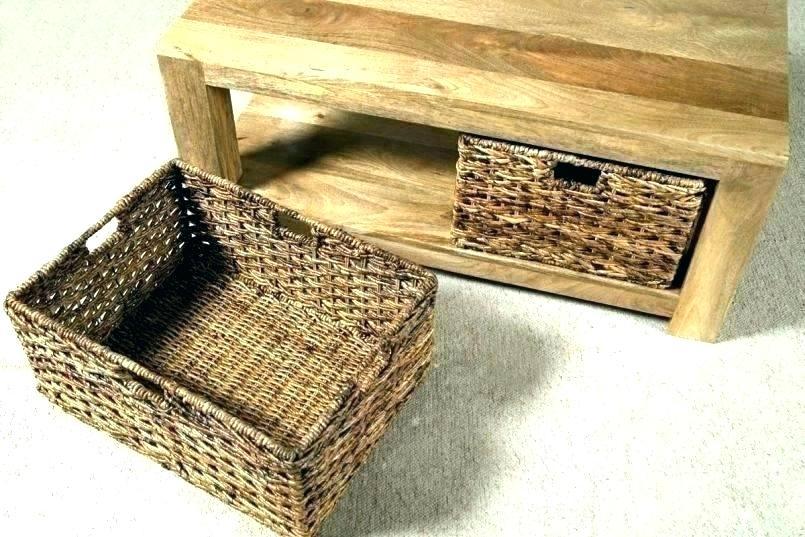 Basket Coffee Table – Sunrise Riverside (View 15 of 25)
