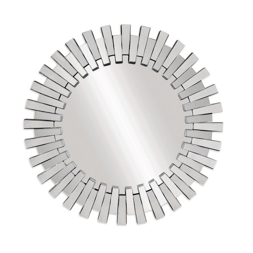 Bassett Mirror Company Baka Decorative Wall Mirror In 2019 Inside Deniece Sunburst Round Wall Mirrors (Image 3 of 20)