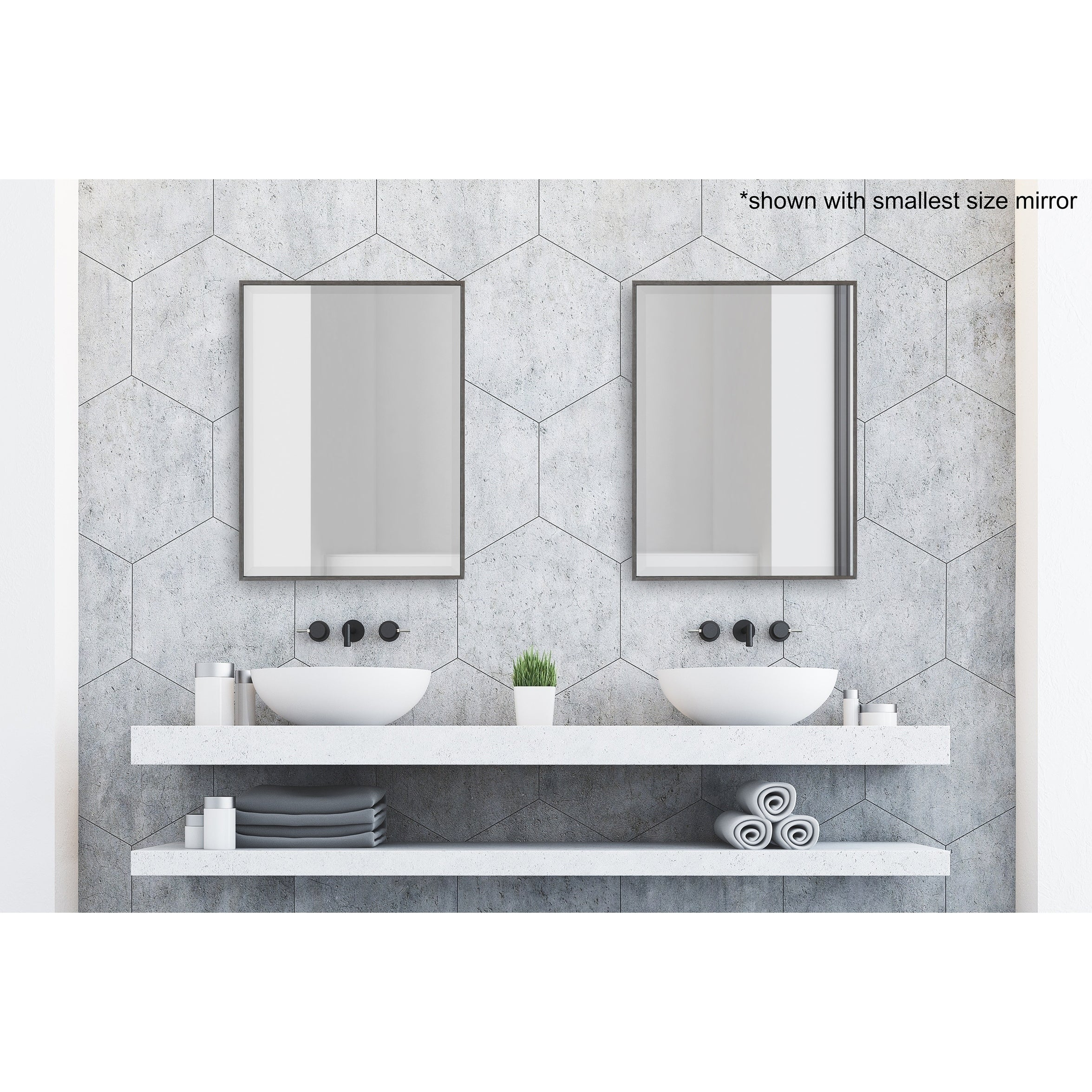 Bathroom Vanity Mirrors | Shop Online At Overstock Intended For Landover Rustic Distressed Bathroom/vanity Mirrors (View 16 of 20)
