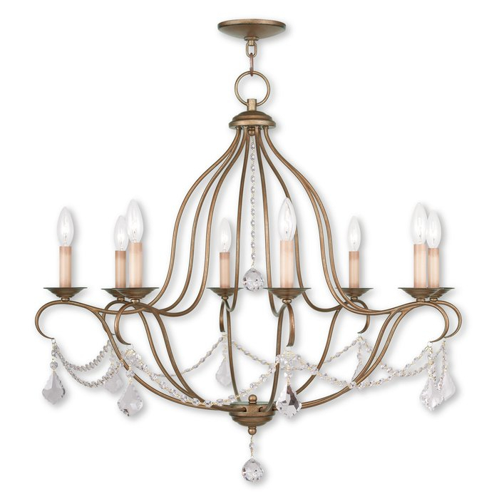 Bayfront 8 Light Candle Style Chandelier Intended For Diaz 6 Light Candle Style Chandeliers (Image 4 of 20)