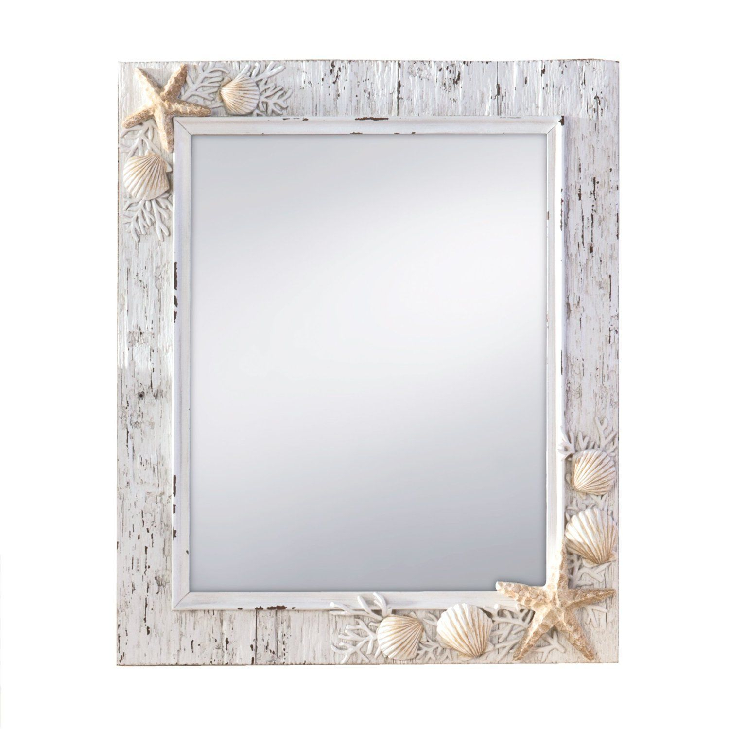 Beach Themed Mirrors! Discover The Best Beach Mirrors For Intended For Janie Rectangular Wall Mirrors (Image 2 of 20)