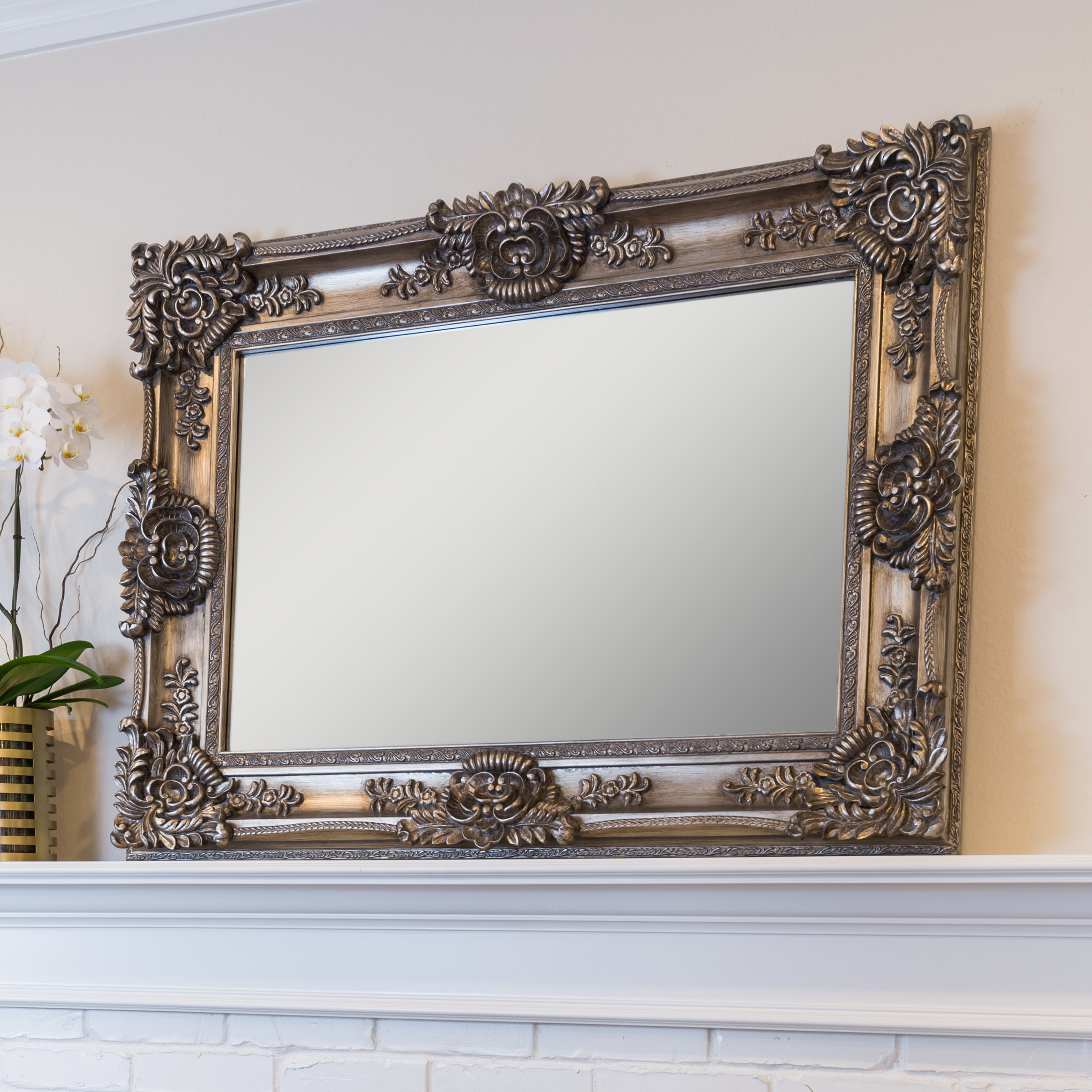 Beaston Accent Mirror With Regard To Longwood Rustic Beveled Accent Mirrors (Image 2 of 20)