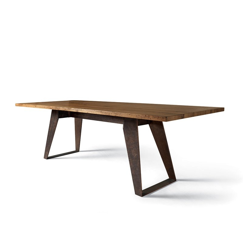 Benjamin Solid Wood Dining Table For Handmade Whitewashed Stripped Wood Tables (Image 3 of 25)