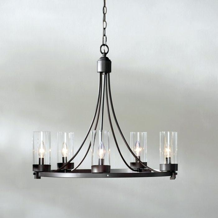 Bennington Candle Style Chandelier Best Modern Chandeliers Pertaining To Bennington 4 Light Candle Style Chandeliers (View 14 of 20)