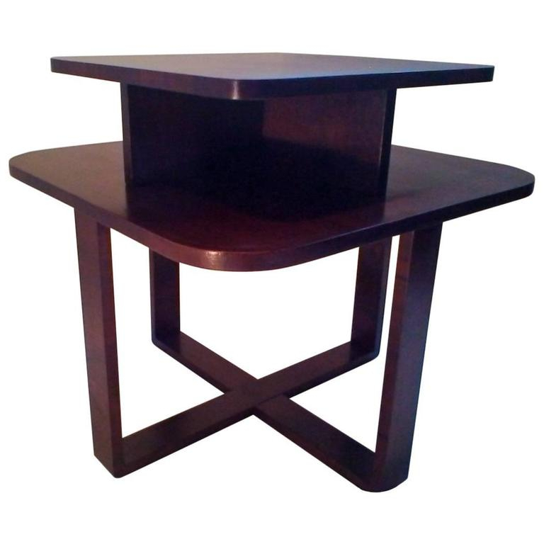 Bentwood End Table Pertaining To Porch & Den Shilshole Tempered Glass Bentwood Accent Tables (View 11 of 47)