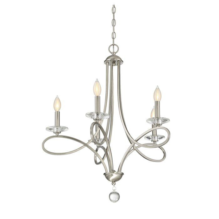 Berger 5 Light Candle Style Chandelier | Decoración For Berger 5 Light Candle Style Chandeliers (View 3 of 20)