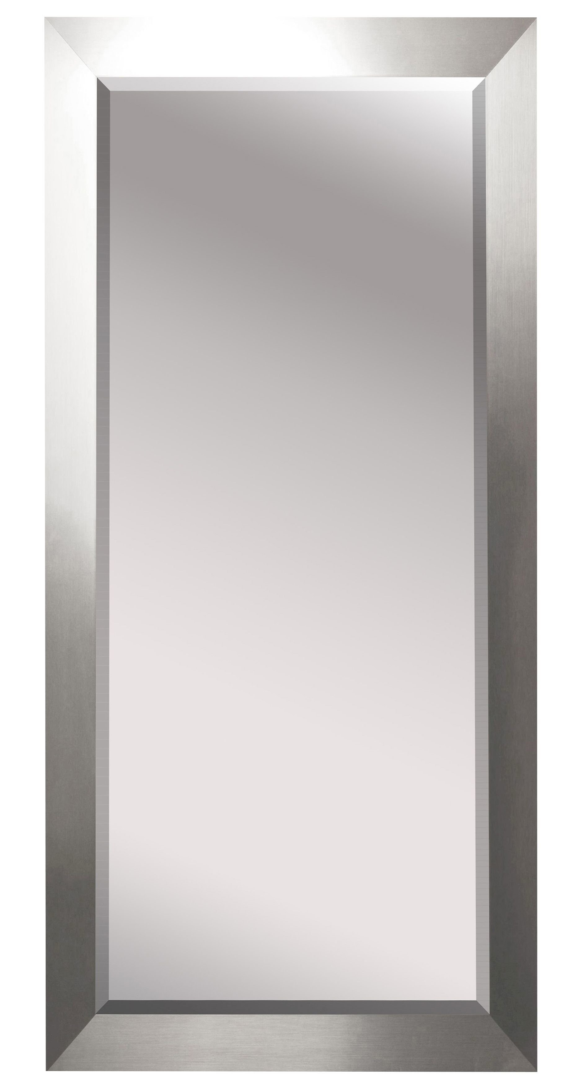 Bernice Beveled Silver Wall Full Length Mirror For Sartain Modern & Contemporary Wall Mirrors (View 14 of 20)
