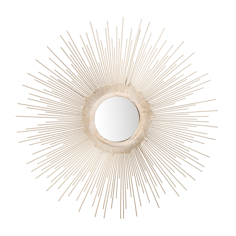 Bertsch Sunburst Modern And Contemporary Accent Mirror For Jarrod Sunburst Accent Mirrors (Image 1 of 20)