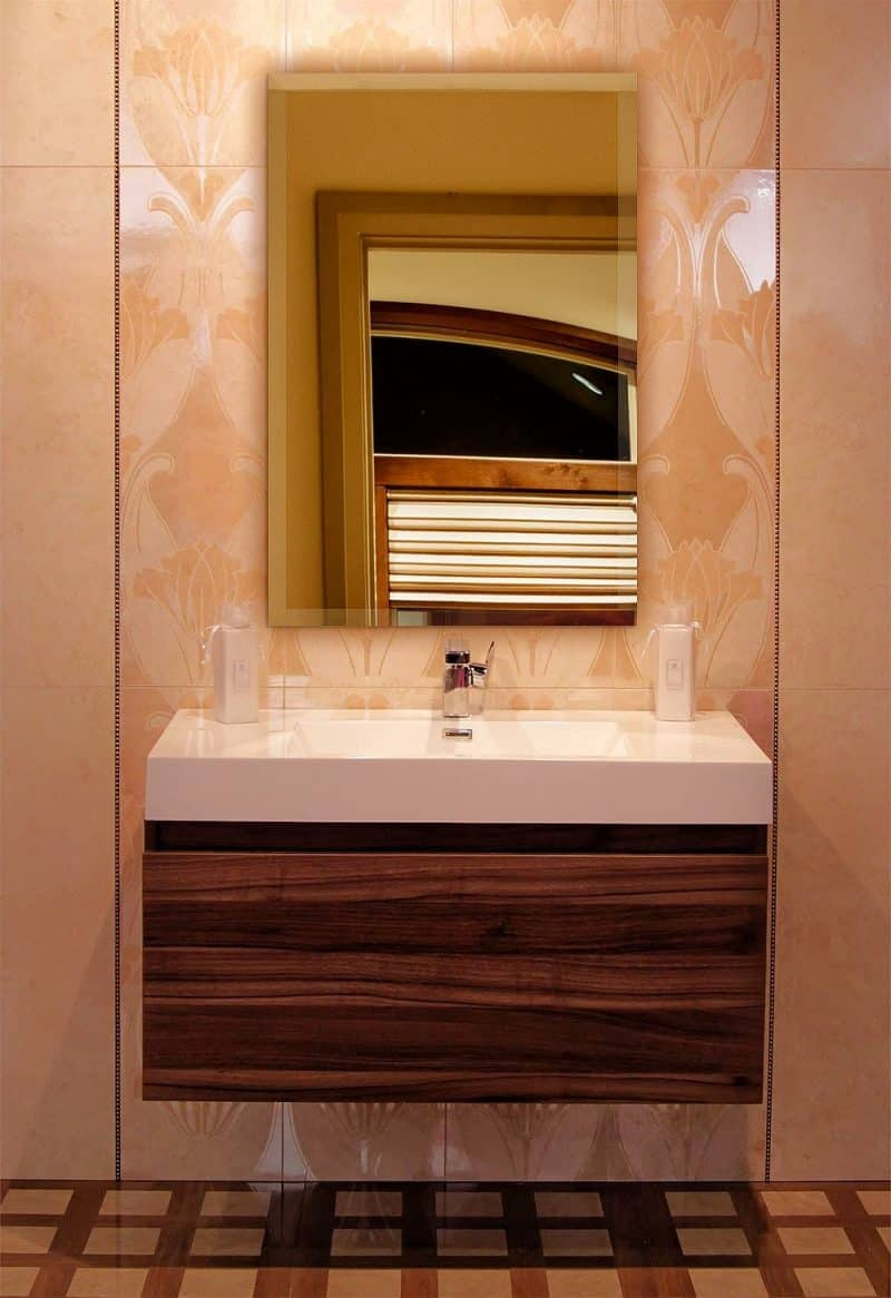 """Best Of"""" List Of Vanity Mirror Ideas To Get Inspired! In Sajish Oval Crystal Wall Mirrors (View 13 of 20)"""
