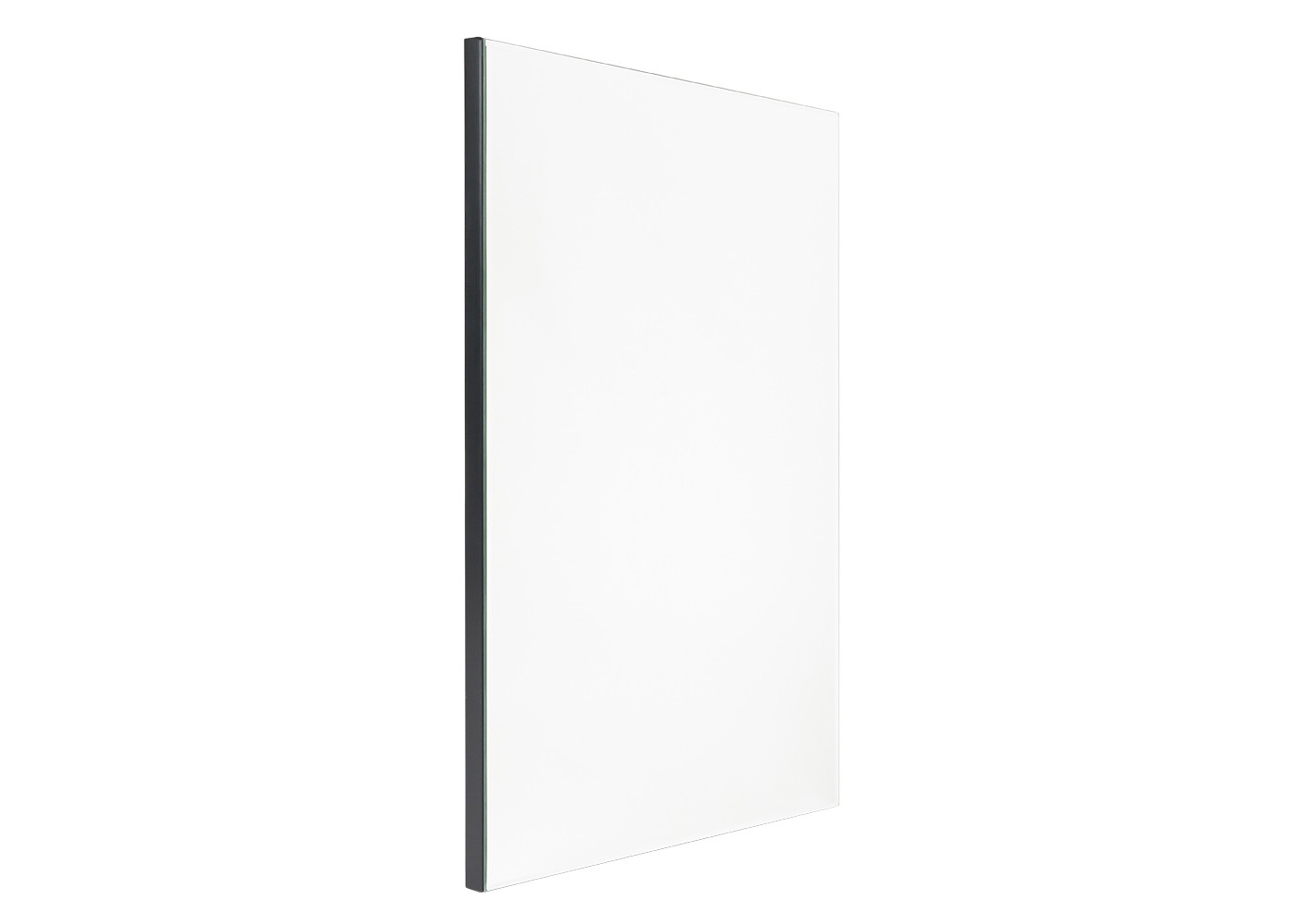 Bevelled Edge Wall Mirror Rectangular Pertaining To Rectangle Plastic Beveled Wall Mirrors (View 9 of 20)