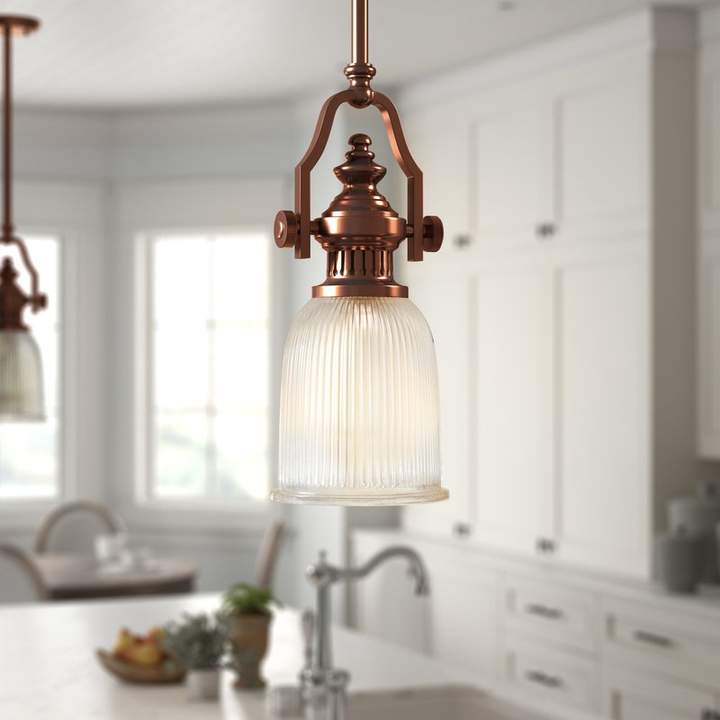Birch Lane™ Heritage Erico 1 Light Single Bell Pendant With Regard To Macon 1 Light Single Dome Pendants (View 24 of 25)