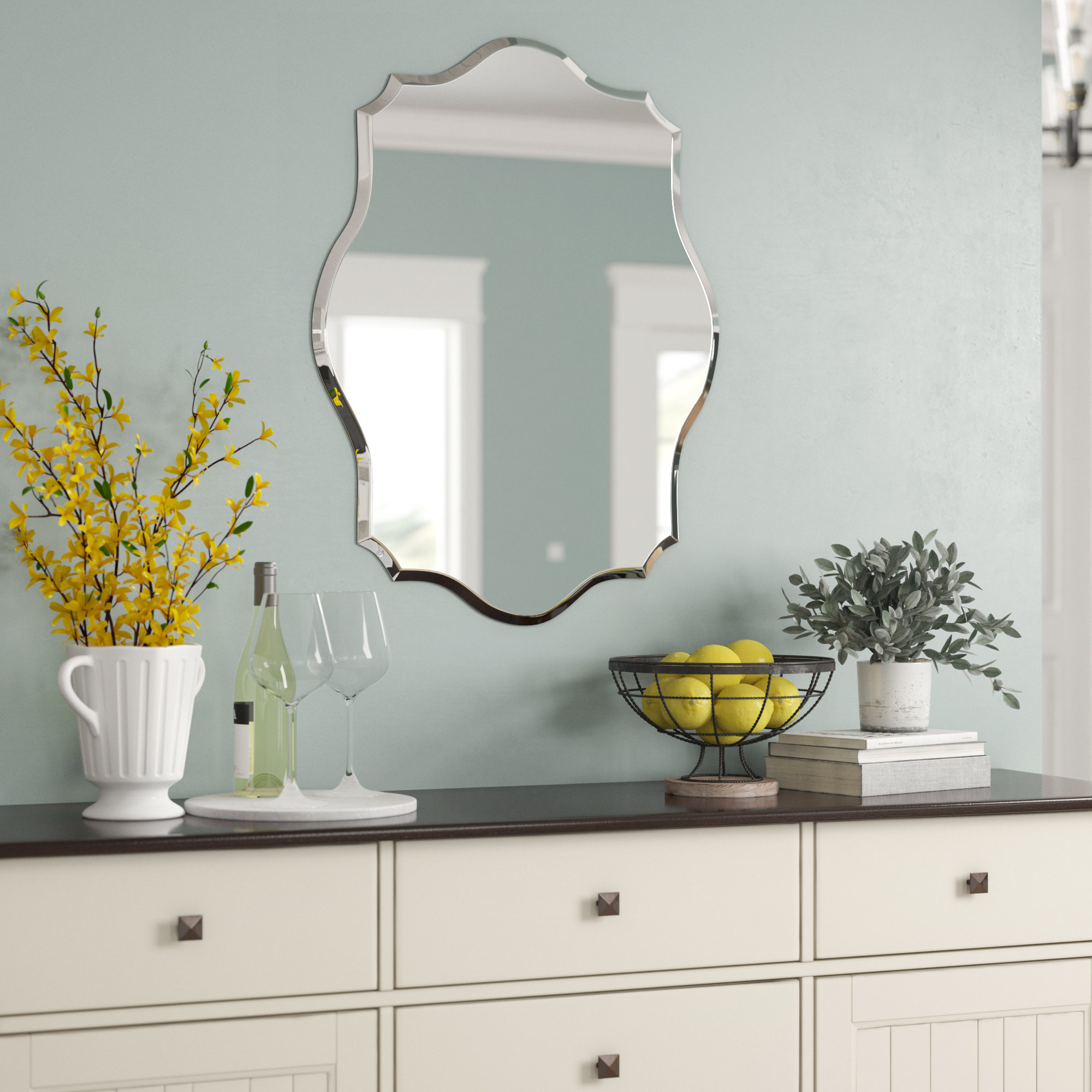 Birch Lane™ Heritage Guidinha Modern & Contemporary Accent Throughout Menachem Modern & Contemporary Accent Mirrors (View 3 of 20)