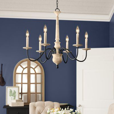 Birch Lane™ Heritage Helen 6 Light Chandelier In 2019 Intended For Hesse 5 Light Candle Style Chandeliers (Image 7 of 20)