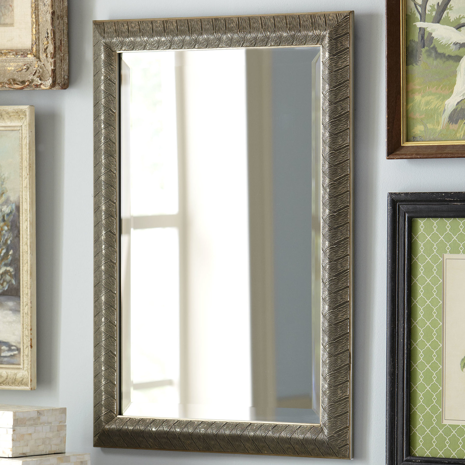 Birch Lane™ Heritage Mirrors You'll Love In 2019 | Wayfair Inside Tifton Traditional Beveled Accent Mirrors (Image 3 of 20)
