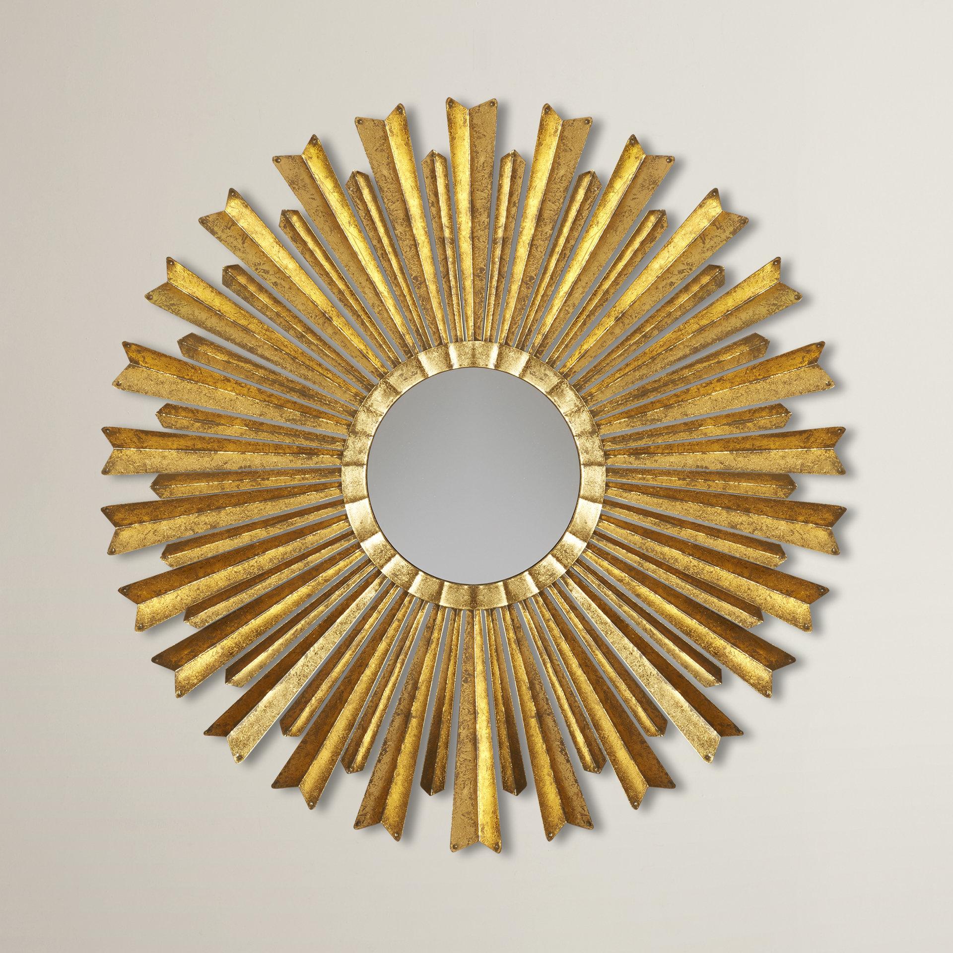Birksgate Sunburst Accent Mirror With Regard To Jarrod Sunburst Accent Mirrors (Image 2 of 20)