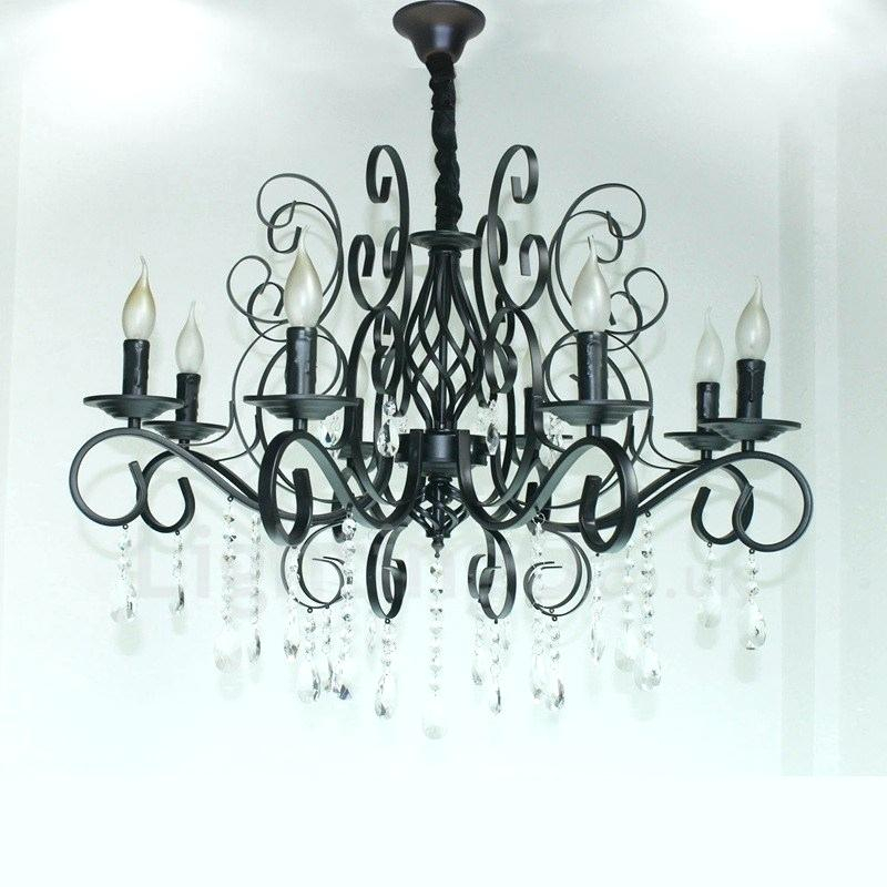 Black Candle Chandelier – Viralthings (View 18 of 20)