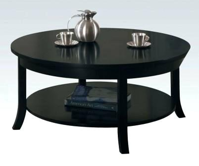 Black Modern Coffee Table – Execupf With Safavieh Mid Century Wynton White Black Lacquer Modern Coffee Tables (Image 4 of 25)