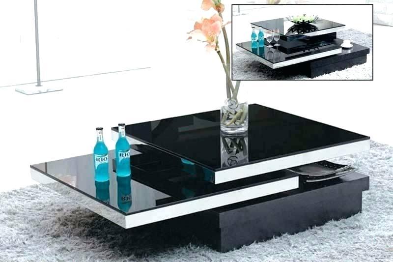 Black Modern Coffee Table – Zanadorazio (View 19 of 25)