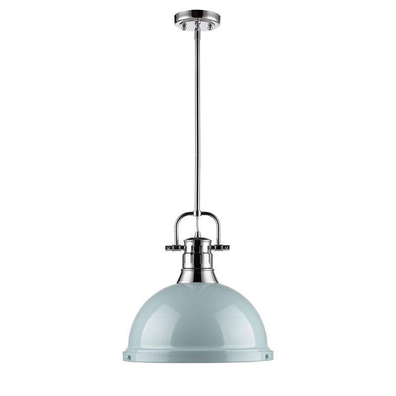 Bodalla 1 Light Single Dome Pendant In 1 Light Single Dome Pendants (Image 5 of 25)