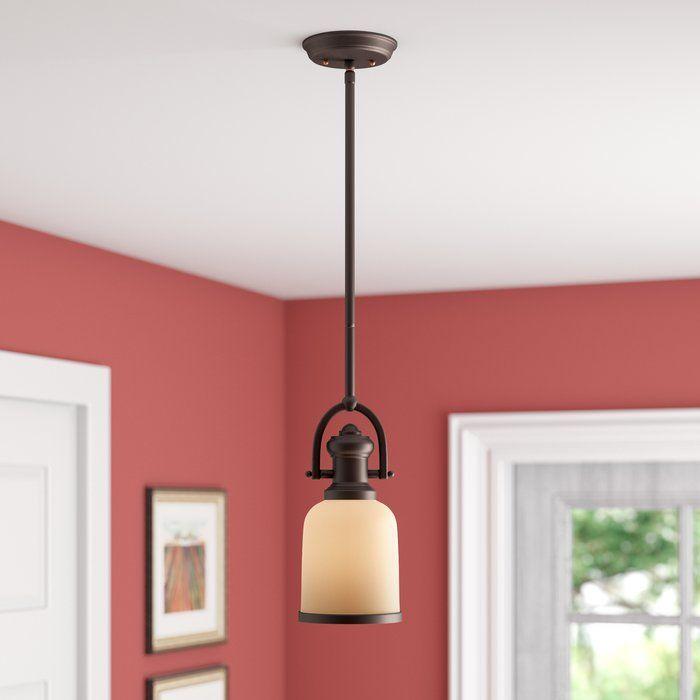 Boornazian 1 Light Cone Pendant | Medford Lighting Within Abernathy 1 Light Dome Pendants (Image 13 of 25)