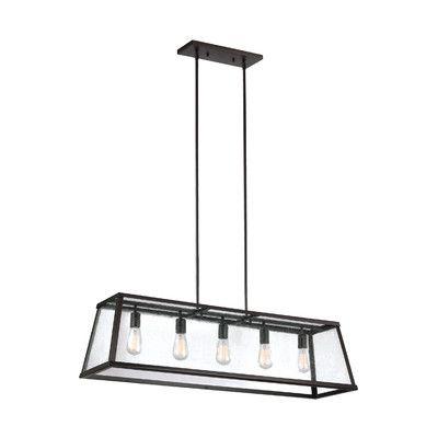 Bouvet 5 Light Kitchen Island Pendant | Building | Lighting Pertaining To Bouvet 5 Light Kitchen Island Linear Pendants (View 9 of 25)