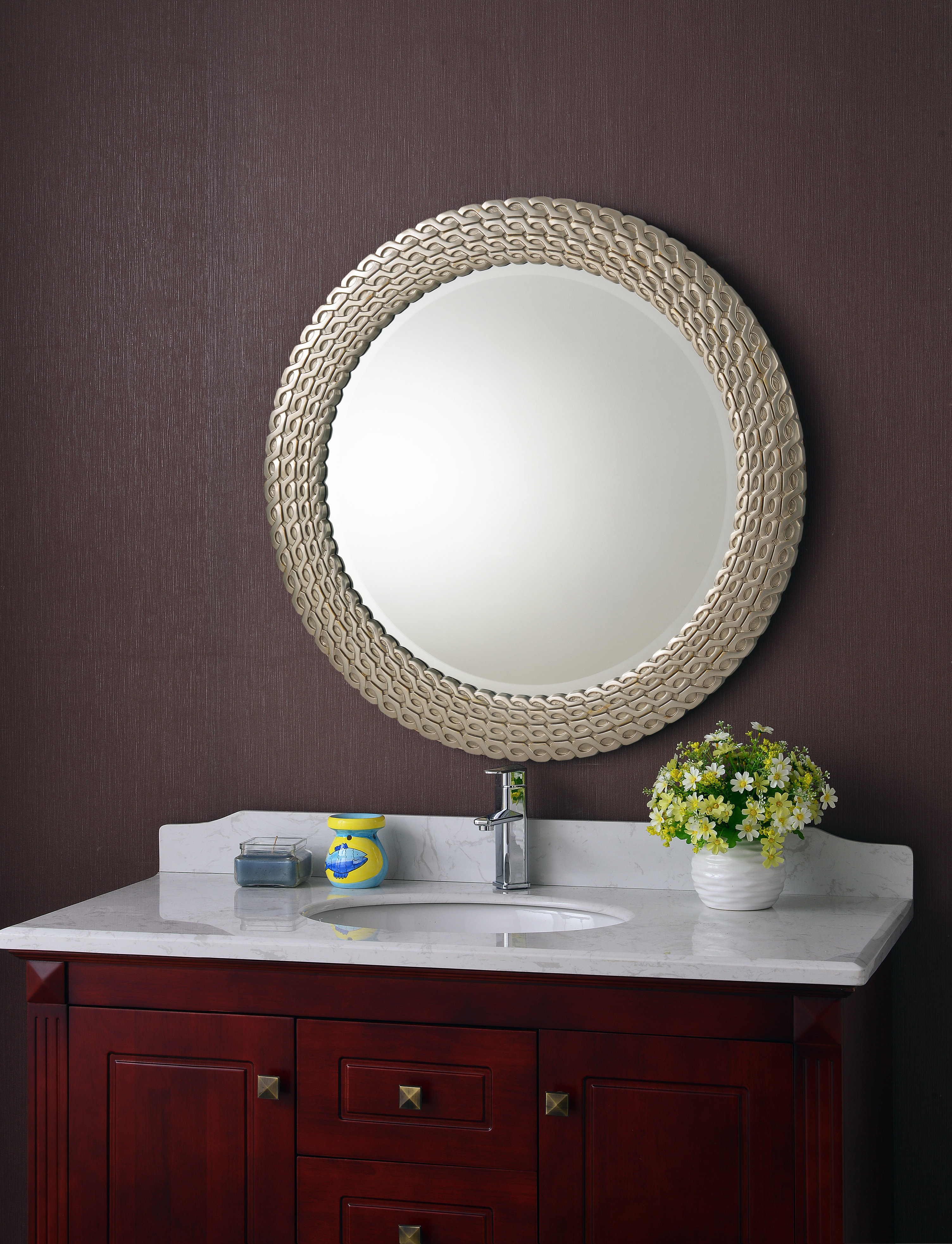 Bracelet Traditional Accent Mirror & Reviews | Joss & Main Within Mcnary Accent Mirrors (View 8 of 20)