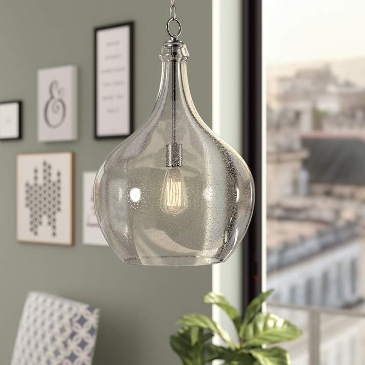 Brayden Studio Bustillos 1 Light Teardrop Pendant In 2019 With Giacinta 1 Light Single Bell Pendants (View 14 of 25)