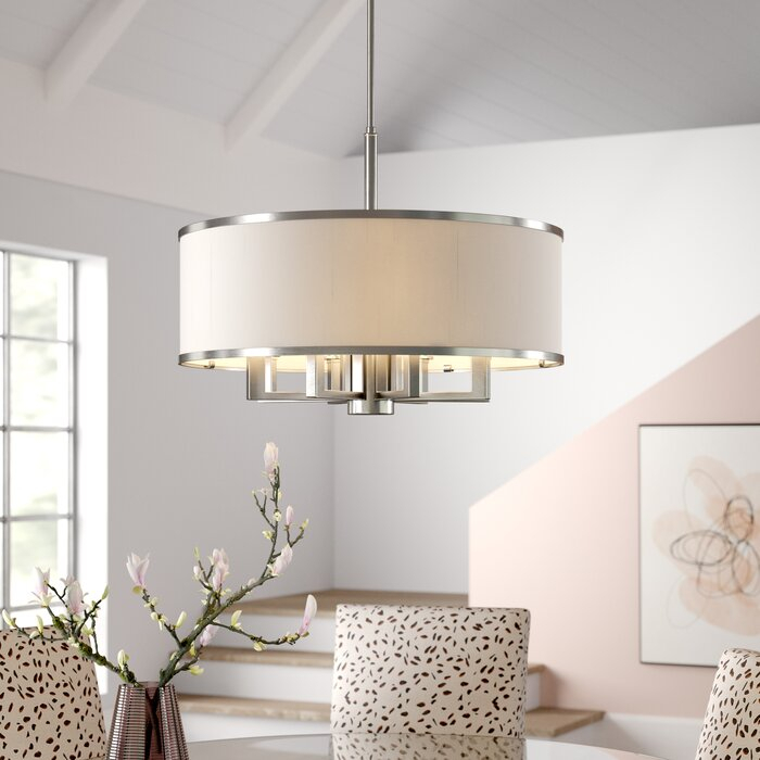 Breithaup 7 Light Drum Chandelier Pertaining To Alina 5 Light Drum Chandeliers (View 19 of 20)