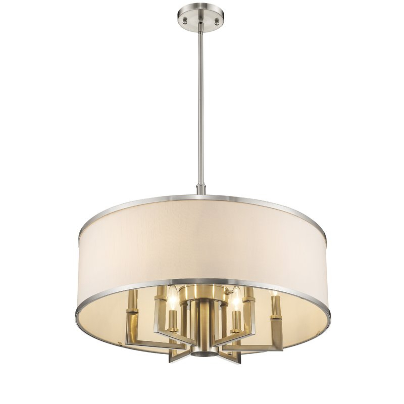 Featured Image of Breithaup 7 Light Drum Chandeliers