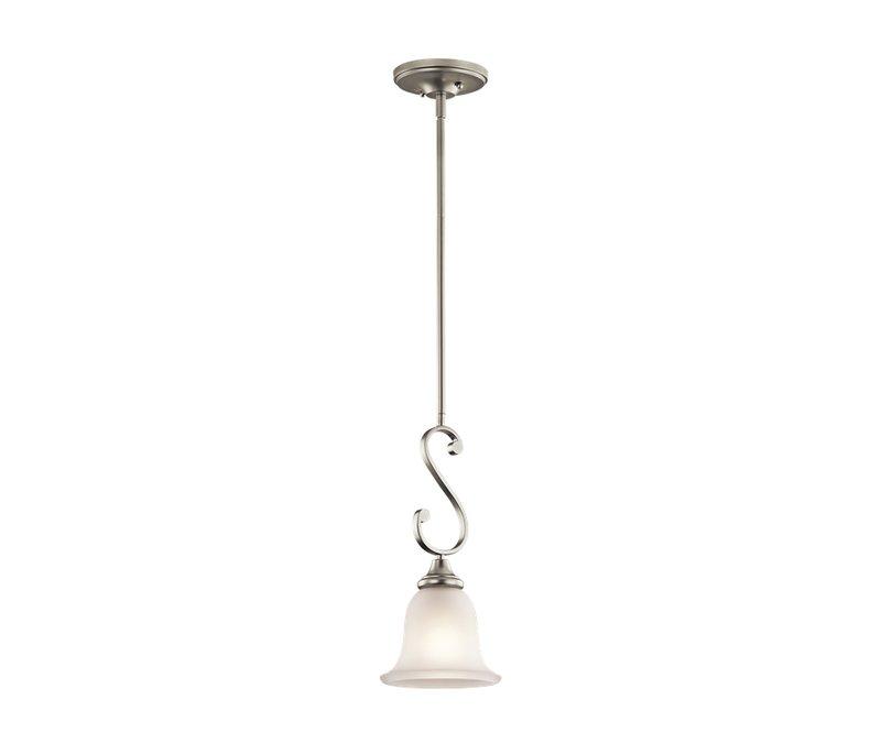 Bretton 1 Light Bell Pendant Intended For Grullon Scroll 1 Light Single Bell Pendants (View 11 of 25)