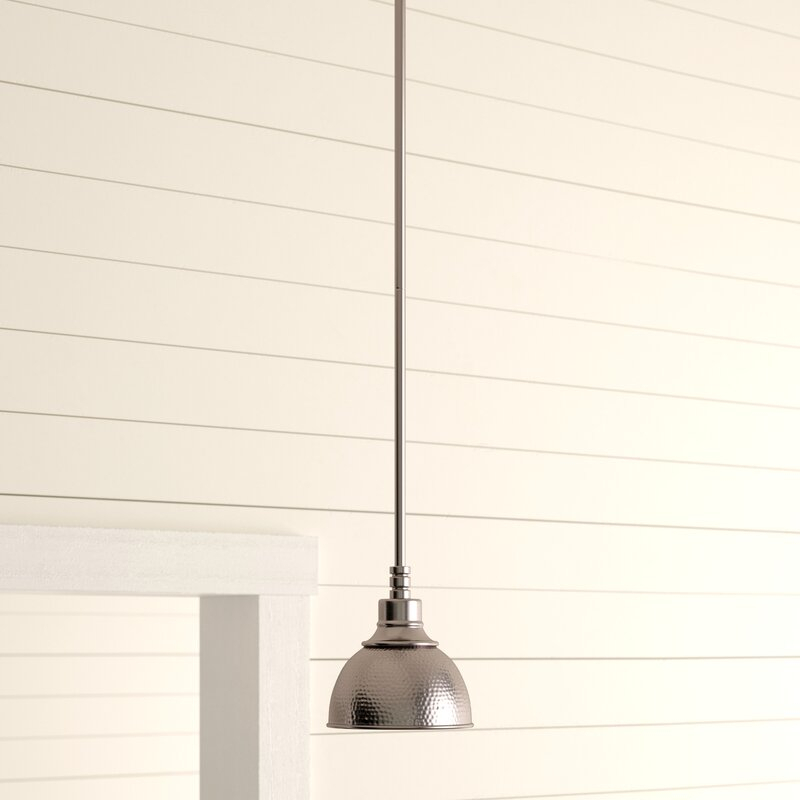 Bridgepointe 1 Light Cone Pendant With Regard To Amara 3 Light Dome Pendants (View 14 of 25)
