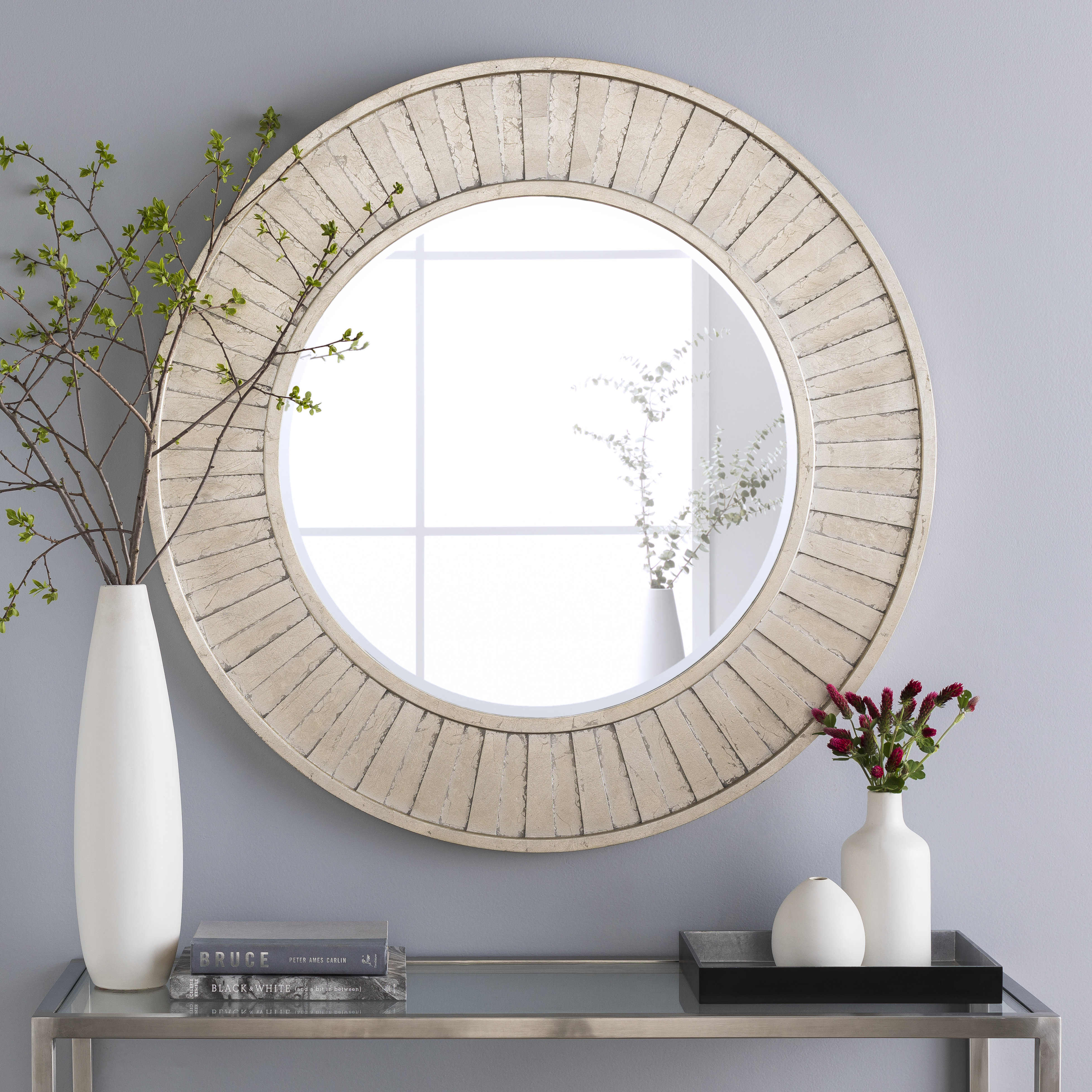Broadmeadow Accent Wall Mirror | Wayfair Inside Tellier Accent Wall Mirrors (Image 3 of 20)