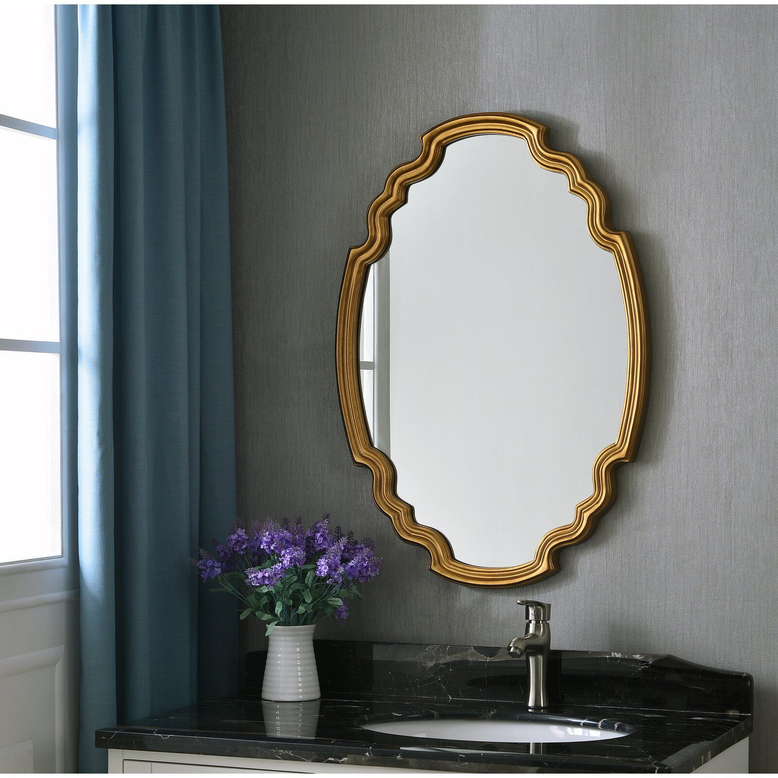 Broadmeadow Glam Accent Wall Mirror In 2019 | Farmhouse Intended For Broadmeadow Glam Accent Wall Mirrors (View 3 of 20)