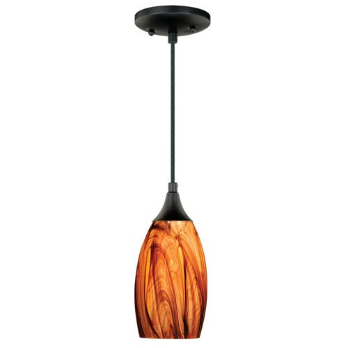 Bronze Oil Rubbed Mini Pendant Lighting | Bellacor Regarding 1 Light Single Star Pendants (Image 14 of 25)