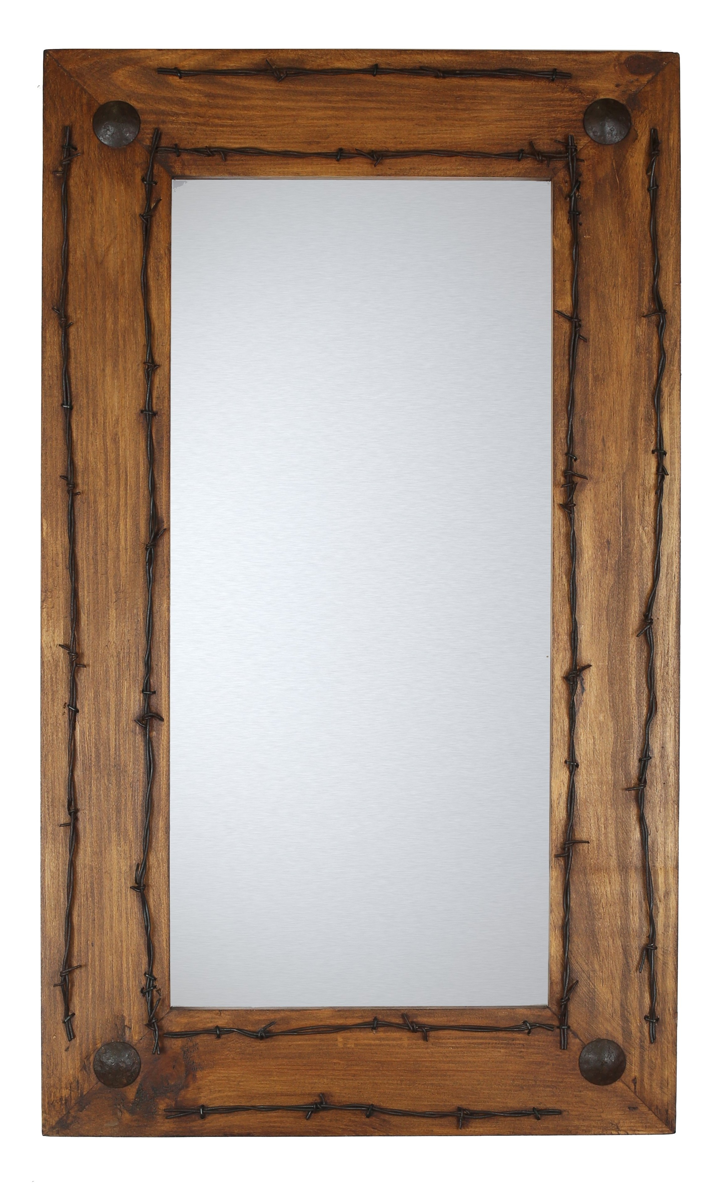 Brown Rustic Mirrors You'll Love In 2019 | Wayfair For Glynis Wild West Accent Mirrors (View 18 of 20)