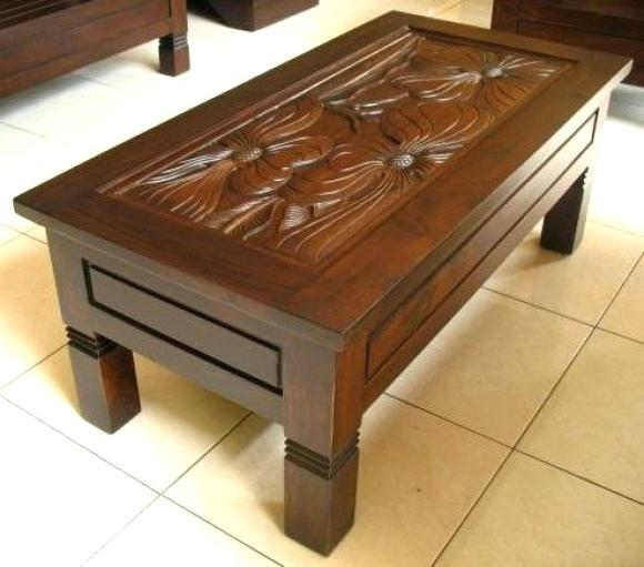 Brown Wood Coffee Table – Cqwzjs (Image 1 of 25)