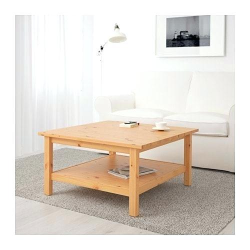 Brown Wood Coffee Table – Effi (Image 3 of 25)