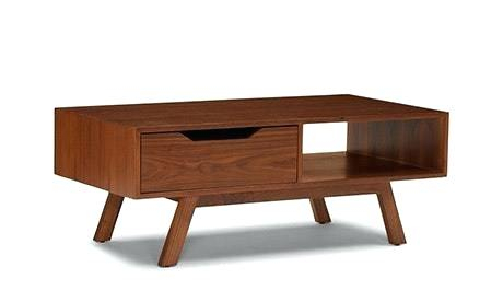 Brown Wood Coffee Table Storage Tables – Allureescorts (Image 6 of 25)