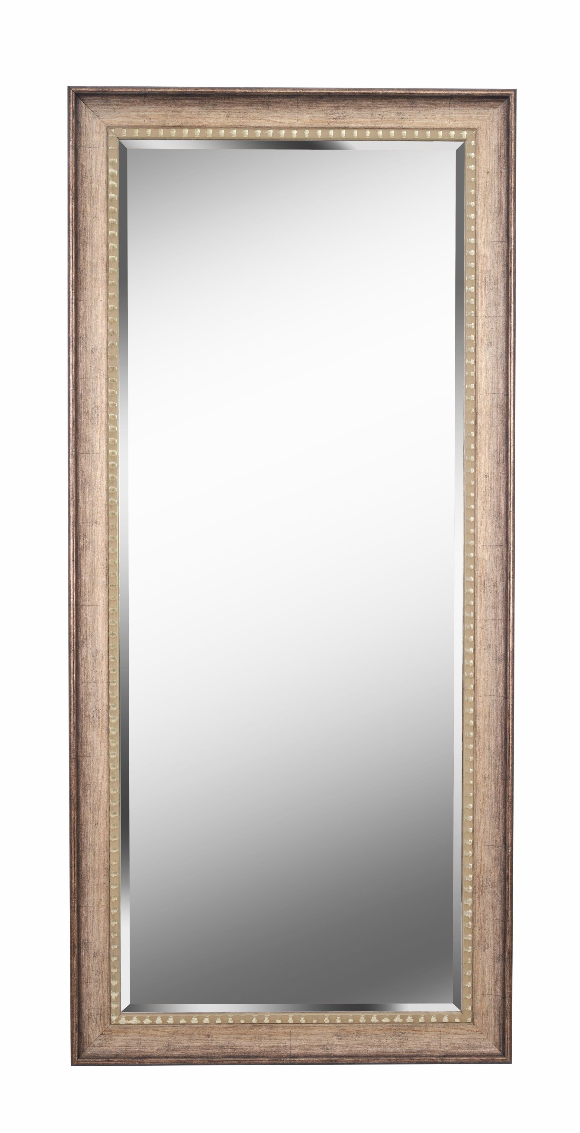 Brunswick Floor Rustic Beveled Distressed Full Length Mirror With Regard To Boyers Wall Mirrors (Image 8 of 20)