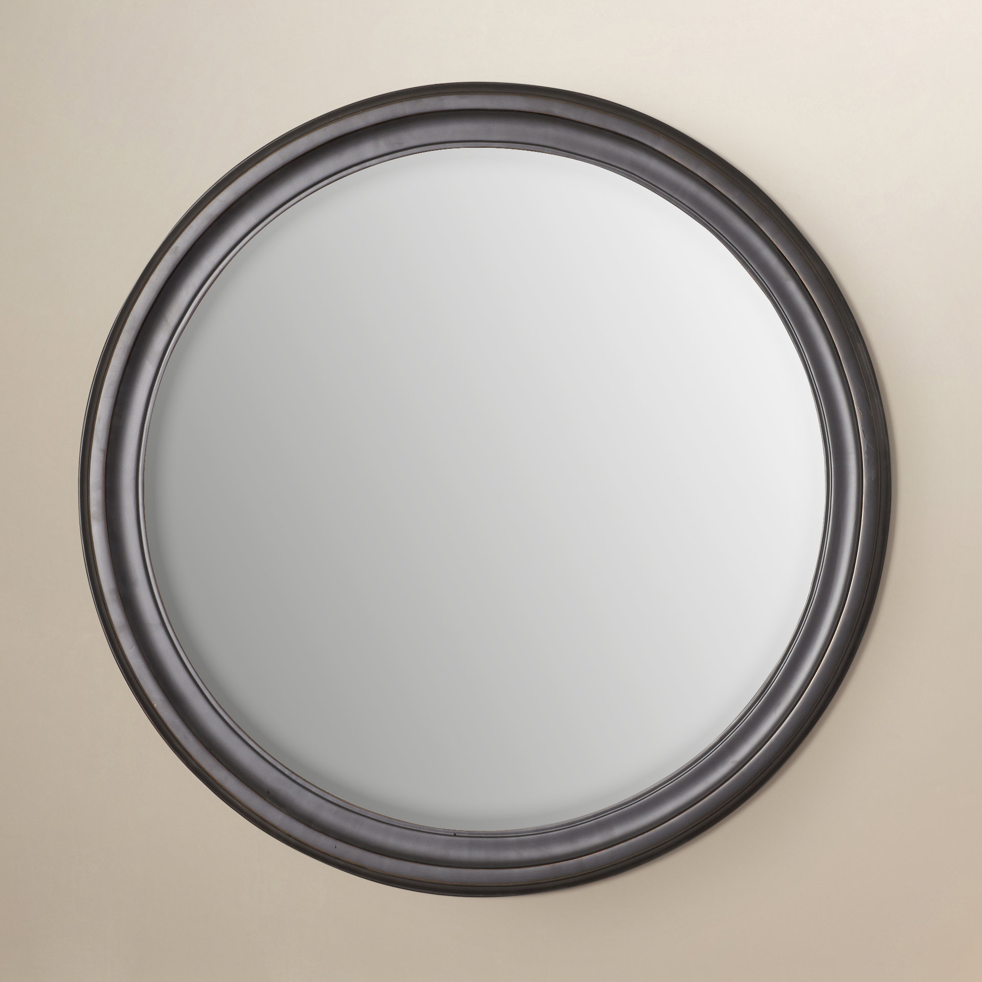 Brushed Bronze Mirror | Wayfair Intended For Charters Towers Accent Mirrors (View 4 of 20)