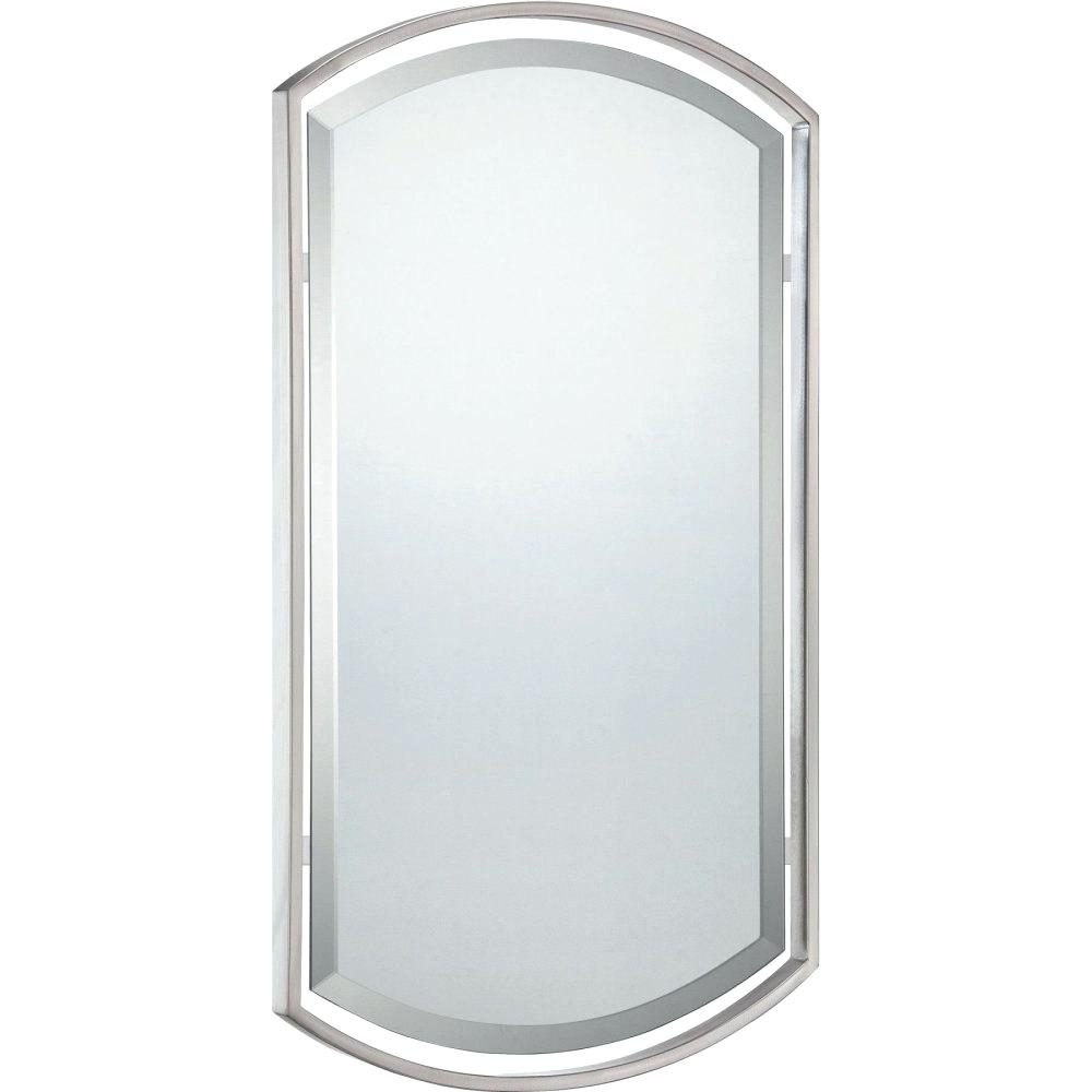 Brushed Nickel Mirrors – Appyhomes (View 10 of 20)