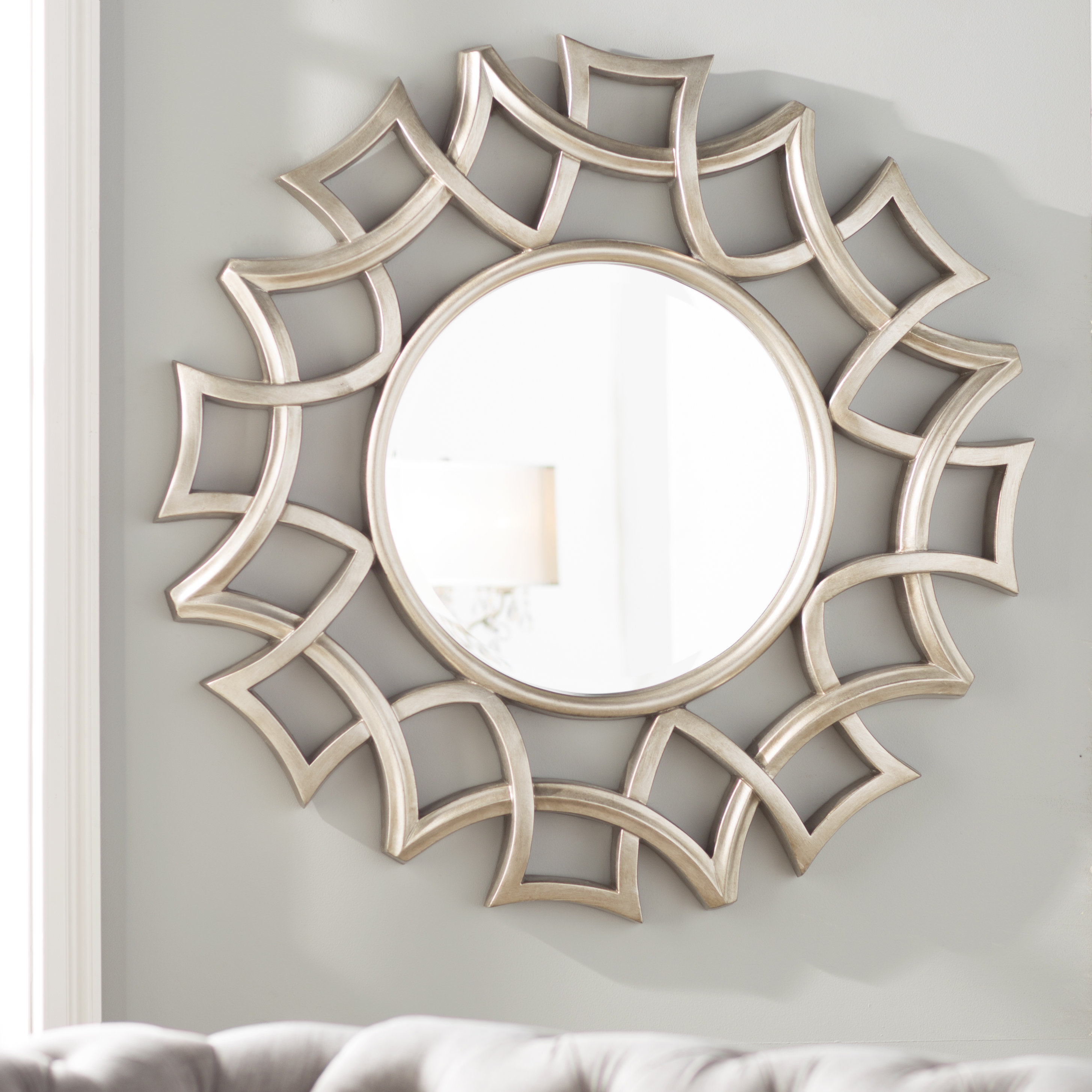 Featured Image of Brylee Traditional Sunburst Mirrors