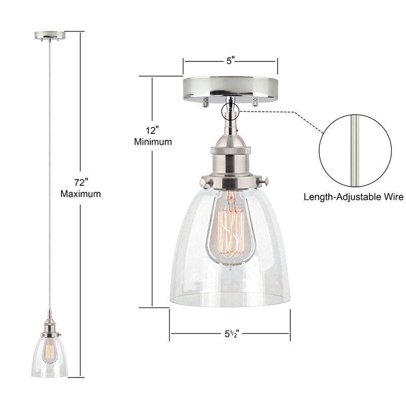 Bundaberg 1 Light Single Bell Pendant | Lighting In 2019 Inside Bundaberg 1 Light Single Bell Pendants (View 23 of 25)