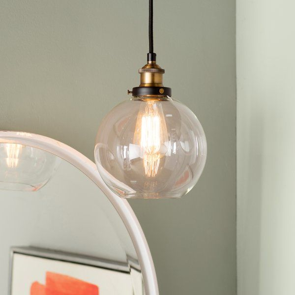 Bundy 1 Light Single Globe Pendant In 2019 | Design Regarding Gehry 1 Light Single Globe Pendants (View 13 of 25)