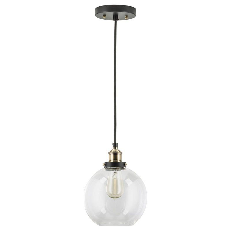 Bundy 1 Light Single Globe Pendant | Lighting | Pendant Within Bundy 1 Light Single Globe Pendants (View 9 of 25)