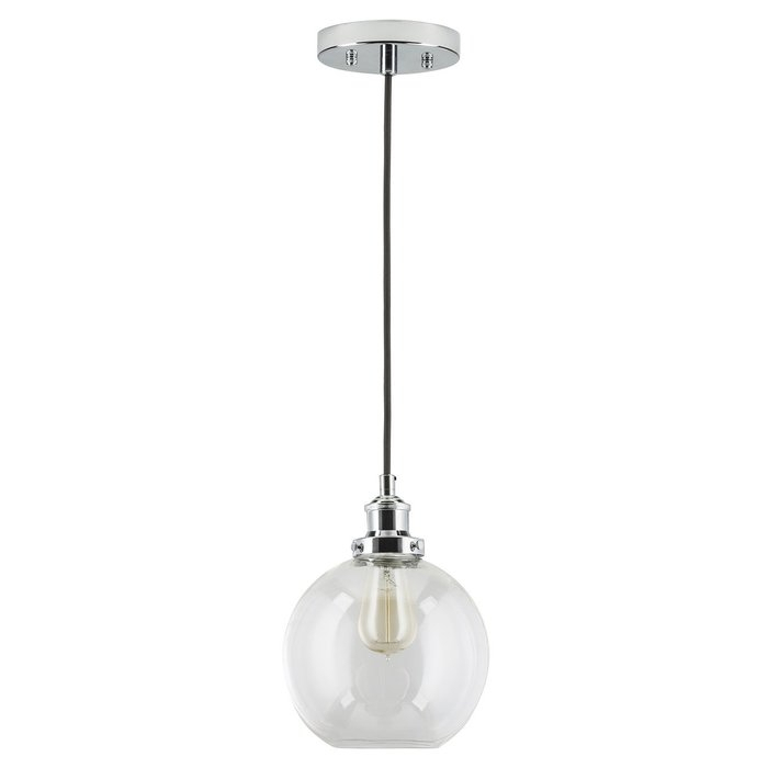 Bundy 1 Light Single Globe Pendant Regarding Bundy 1 Light Single Globe Pendants (View 4 of 25)